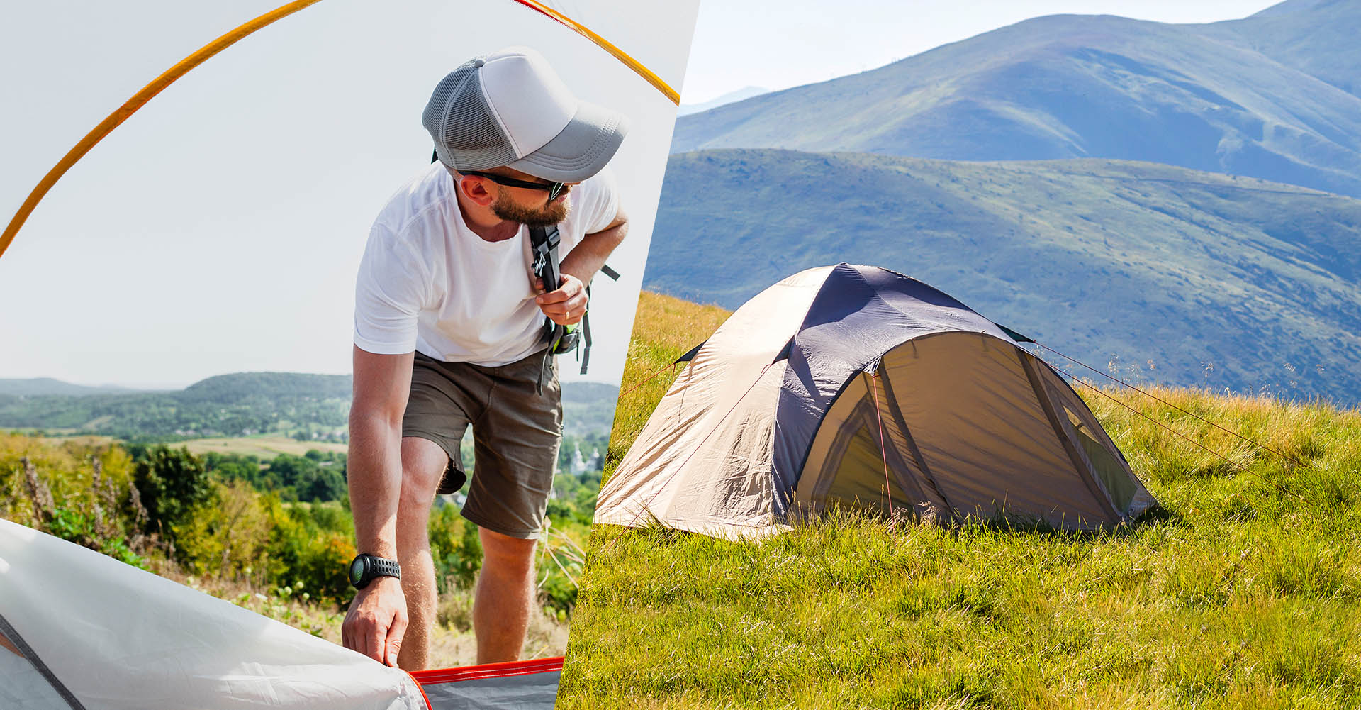 Tent and Sleeping Bag